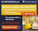 """Obrazek do artykułu: II edycja konferencji """"Nowoczesna służba BHP w zarządzaniu bezpieczeństwem i higieną pracy"""