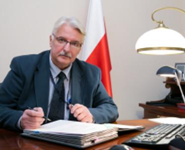 articleImage: Szef MSZ: KE przedstawia fałszywy obraz Polski