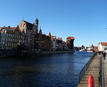 articleImage: Otwarto kładkę na gdańską wyspę Ołowianka