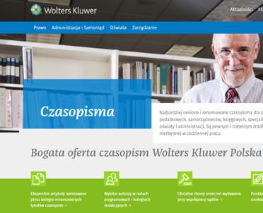 articleImage: Nowa odsłona strony czasopism Wolters Kluwer