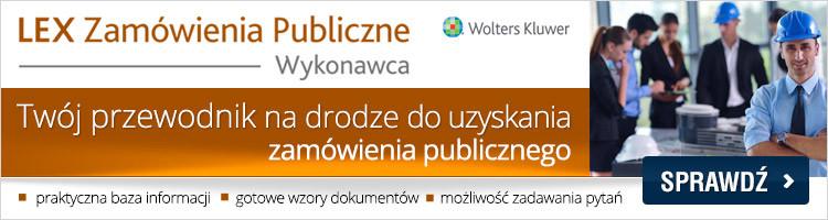 Zamówienia Publiczne - Wykonawca 2015