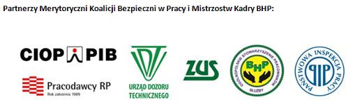 Partnerzy Merytoryczni Gali Mistrzostw Kadry BHP 2015