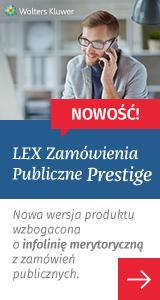 LEX Zamówienia Publiczne Prestige