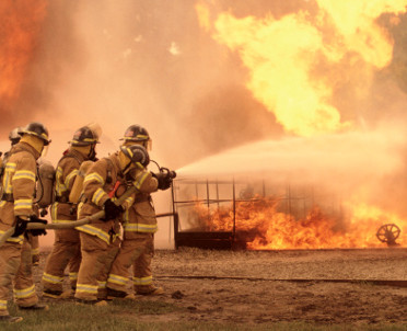 articleImage: Lubuskie: pożar składowiska odpadów