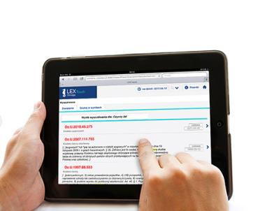 articleImage: LEX Touch - informacja prawna dostosowana do iPada
