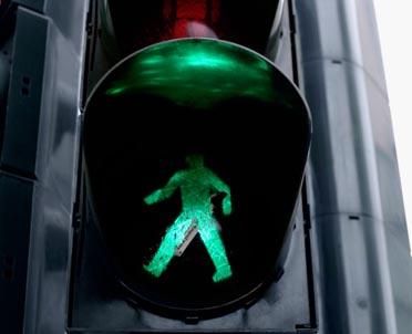 articleImage: Samorządy będą mogły instalować wyświetlacze czasu na sygnalizatorach świetlnych