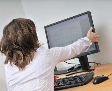 articleImage: Ergonomia pracy przy komputerze