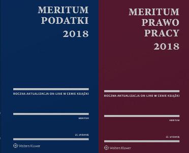 articleImage: Meritum Podatki 2018 i Meritum Prawo Prawy 2018 [Książki tygodnia]