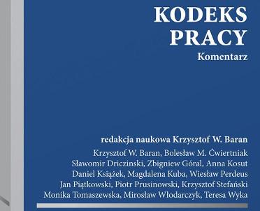 articleImage: Kodeks pracy. Komentarz [Książka tygodnia]