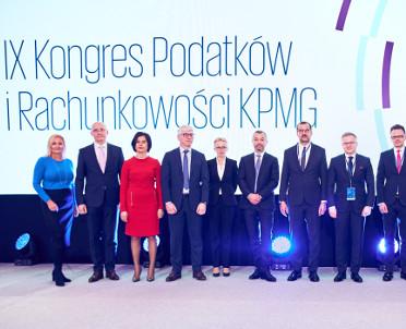 articleImage: Prawie 1100 osób wzięło udział w IX Kongresie Podatków i Rachunkowości KPMG pod patronatem m.in. Wolters Kluwer Polska