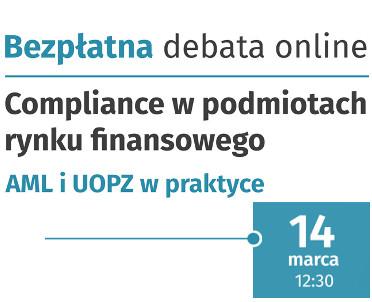 articleImage: Wolters Kluwer Polska zaprasza do oglądania debaty o compliance w instytucjach finansowych