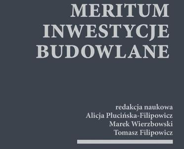 articleImage: MERITUM Inwestycje budowlane [Książka tygodnia]