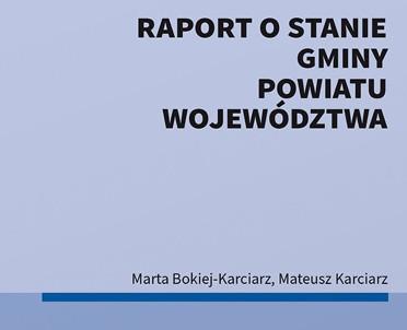 articleImage: Raport o stanie gminy, powiatu, województwa [Książka tygodnia]