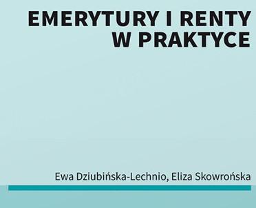 articleImage: Emerytury i renty w praktyce [Książka tygodnia]