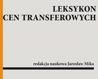 articleImage: Leksykon cen transferowych [Książka tygodnia]