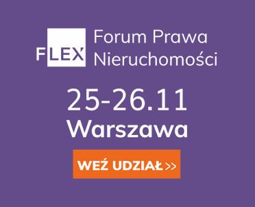 articleImage: Wolters Kluwer Polska Partnerem Towarzyszącym konferencji Forum Prawa Nieruchomości FLEX