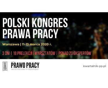 articleImage: Polski Kongres Prawa Pracy