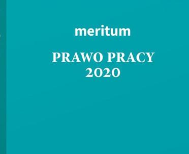 articleImage: Meritum Prawo pracy 2020 [Książka tygodnia]