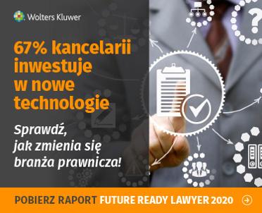 articleImage: Raport Future Ready Lawyer 2020: pandemia przyspieszy rewolucję technologiczną branży prawniczej