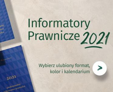articleImage: Informatory Prawnicze 2021 [Publikacja tygodnia]