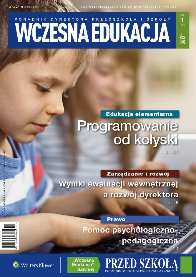 Wczesna Edukacja - numer 1/2018